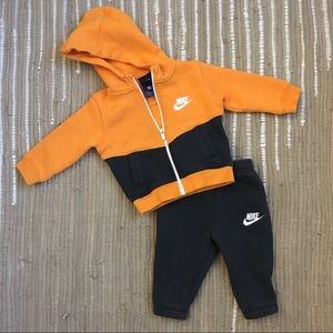 Baby Nike two piece sweatsuit